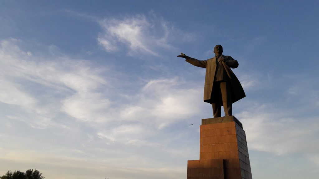 Lenin Statue Osch Kirgistan