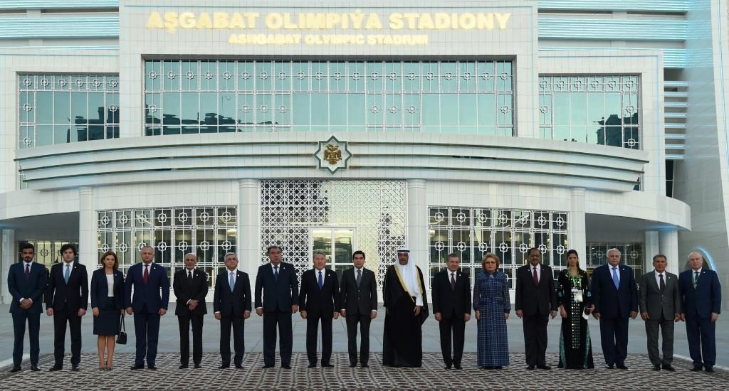 Staatschefs Aschagabat 2017 Eröffnung