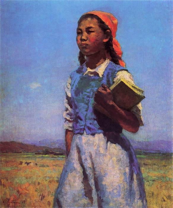 Tschujkow Die Tochter der Sowjetkirgisen