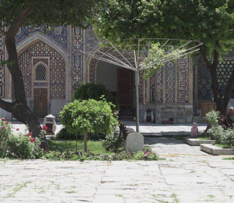 Usbekistan Seidenstraße Samarkand Tourismus