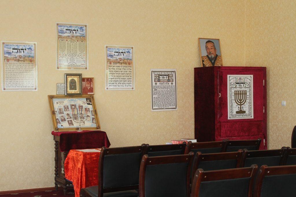 Innen Synagoge Duschanbe