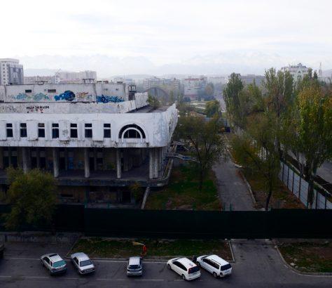 Naryn Restaurant Bischkek Kirgistan Abriss Architektur