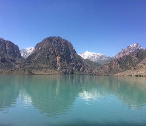 Iskanderkul See Tadschikistan Alexander dem Großen