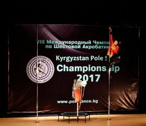 Meister Poledance Pole sports Kirgistan Bischkek