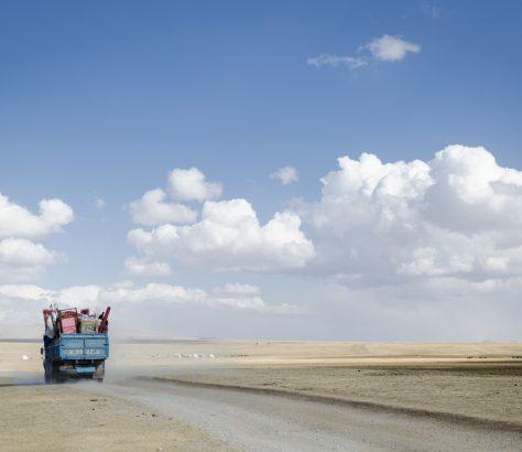 Kirgistan Nomaden Songkölsee
