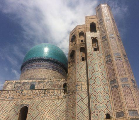 Samarkand Moschee Bibichanum Usbekistan