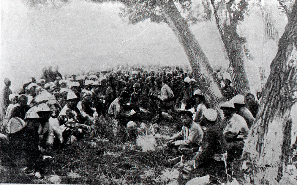 Kongress Nomadenstamm Alai-Tal Kirgistan Sowjetisierung