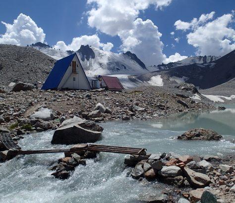 Gletscher Kirgistan Wetterstation Kontrolle Messungen Bischkek Klima Erderwärmung Bischkek