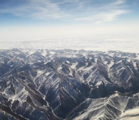 Kirgistan Bergen Oben