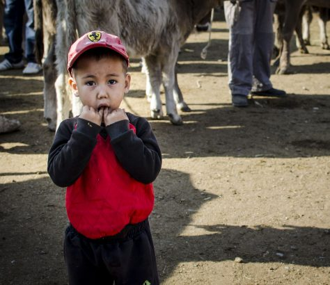 Kotschkor Kirgistan Kind Markt