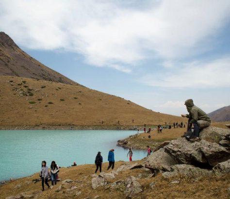 Kirgistan Köl-Tor See