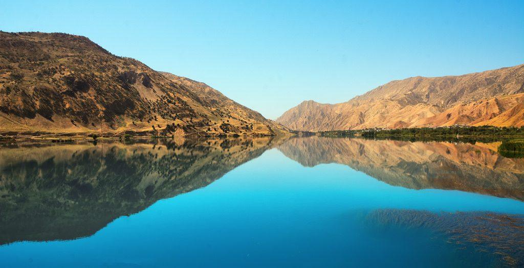 Tadschikistan Pandsch Fluss