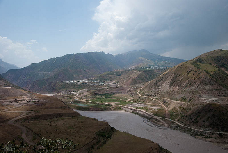 Wachsch Fluss Tadschikistan