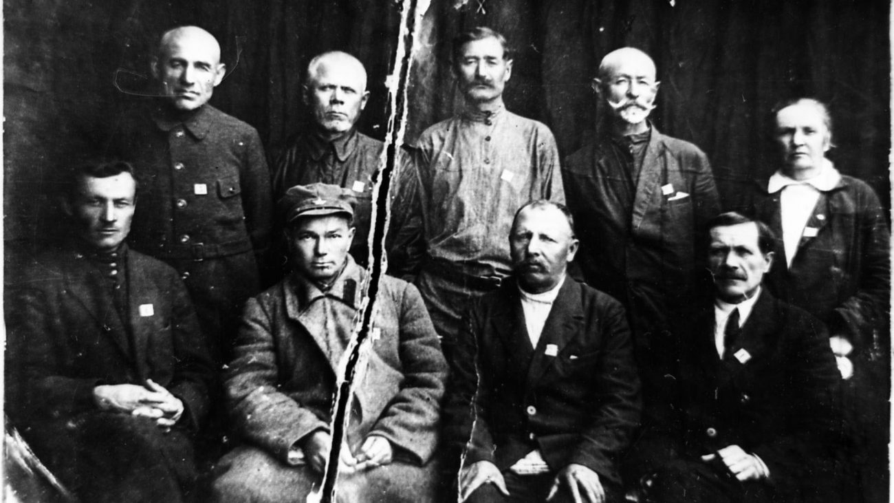 Soldaten Arbeiter Sowjet Krigistan Oktoberrevolution