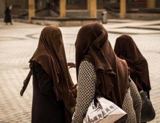 Frauen in Kaschgar China