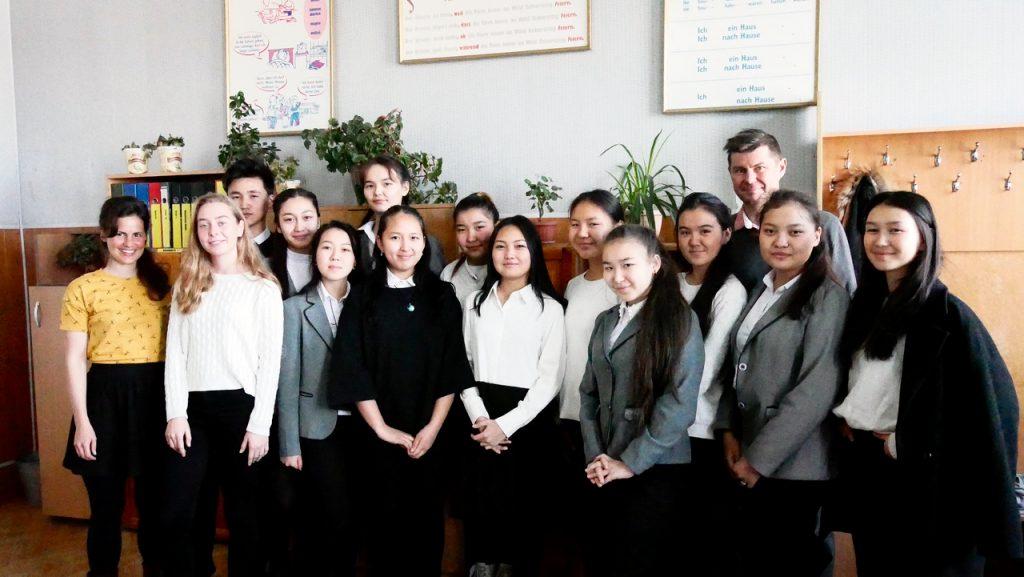 Schulklasse Goethe Schule 2017