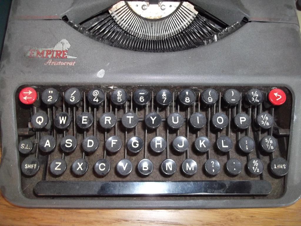 QWERTY Schreibmaschine
