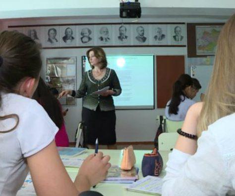 Schule in Kirgistan