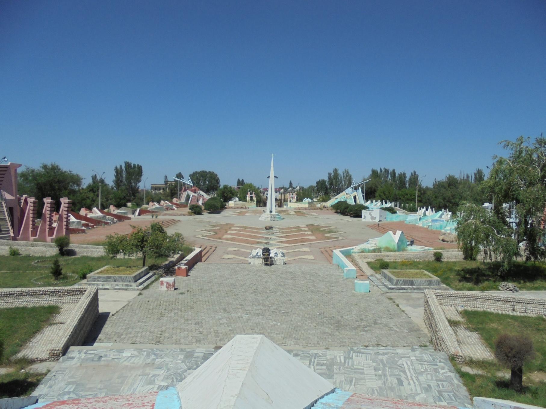 Das Dorf Manas Ayil im Süden von Bischkek