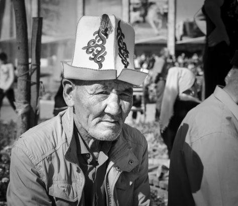 Kalpak Mann Kirgistan