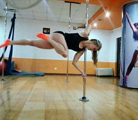 Pole Dance, Stangentanz, Sport, Training