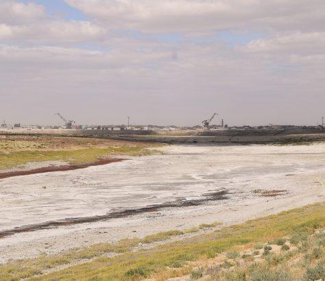 Kasachstan Aralsee Aralsk Hafen
