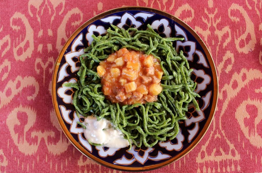 Lagman Choresm Usbekistan Lebensmittel