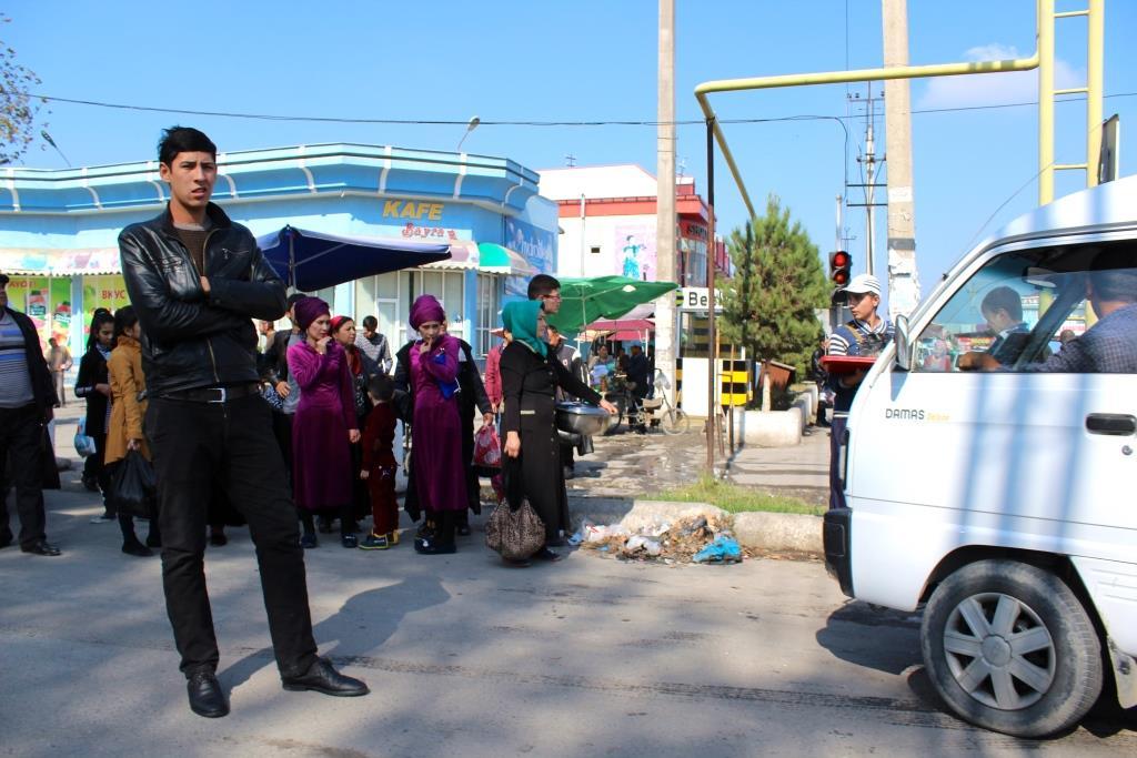 Margilon Usbekistan Bus