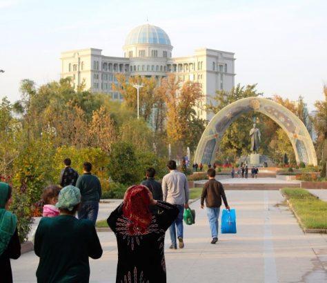 Rudaki Park Duschanbe Tadschikistan