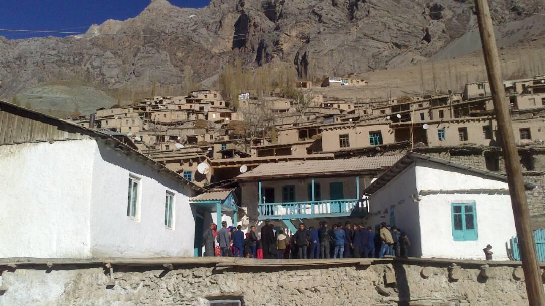 Woru Dorf Tadschikistan Terrassen