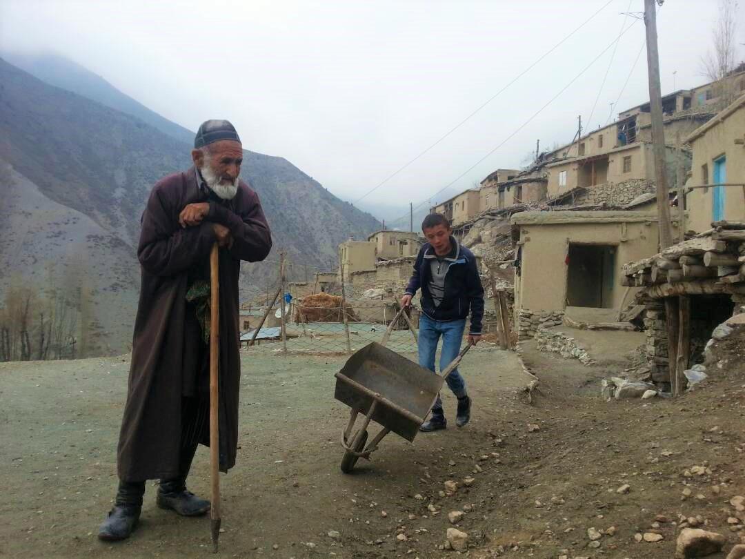 Woru Dorf Tadschikistan Imam Berge