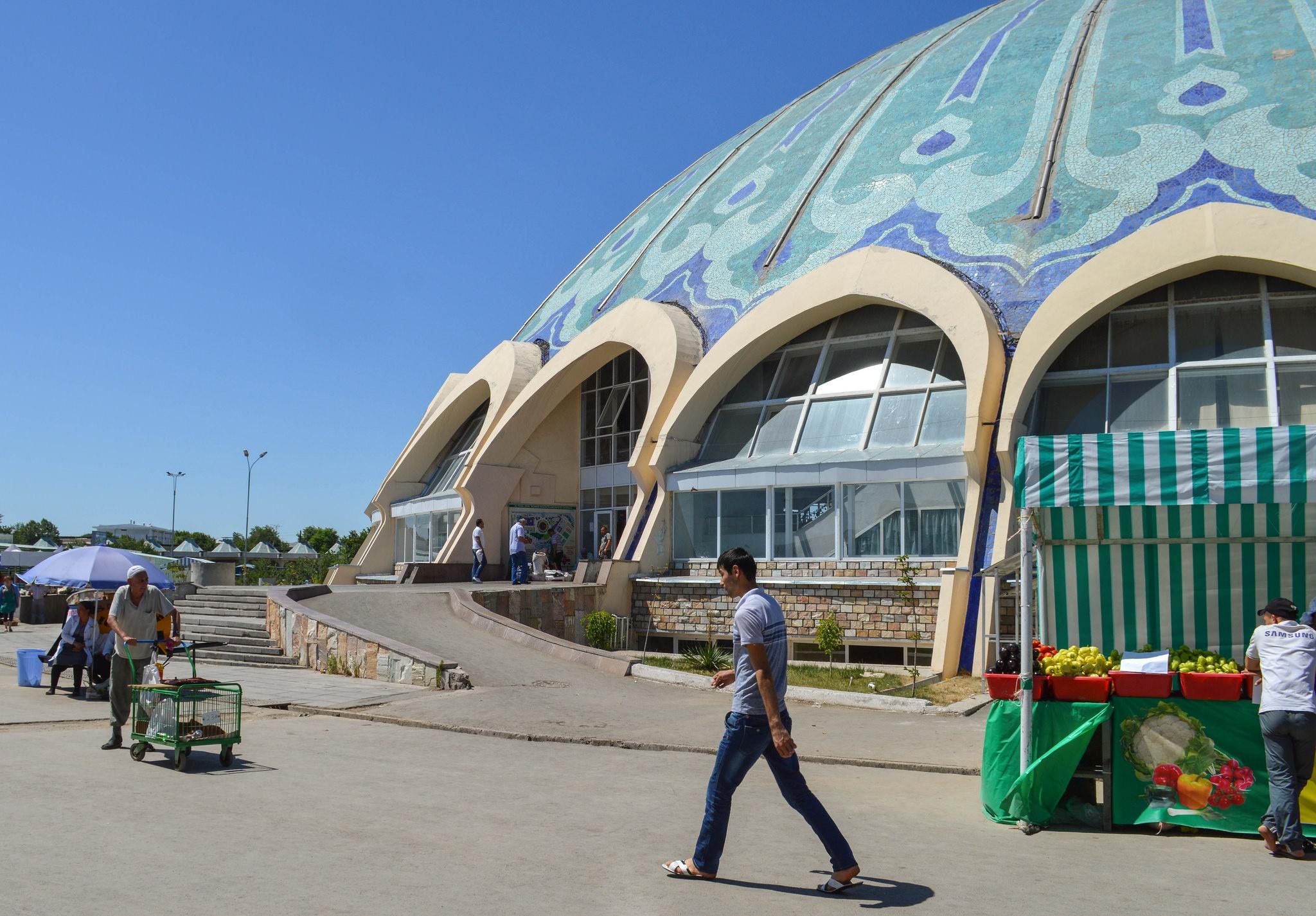 Bei dem Tchorsu Basar in Taschkent