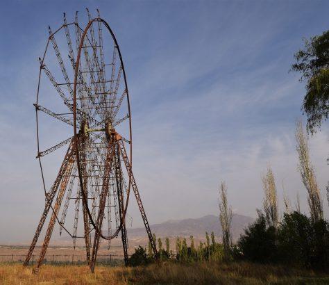 Riesenrad UdSSR Toktogul Kirgistan