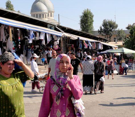 Tschorsu Basar Taschkent Usbekistan