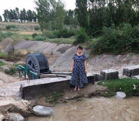 Usbekistan Wasserkraftwerk GES