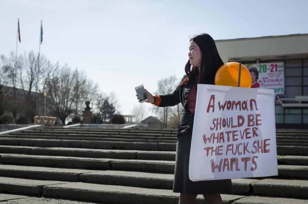 Demo, Frauenrechte, Osch