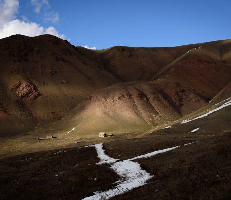 Songkölsee Berge Kirgistan