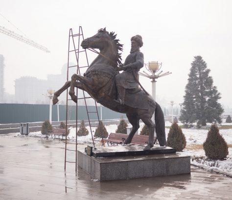 Statuen Ghiyath al-Din Muhammad Tadschikistan Duschanbe