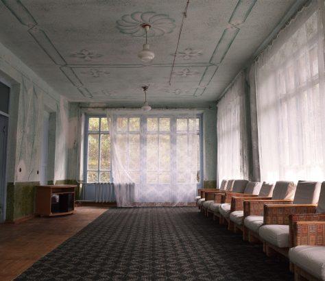 Sanatorium, Zentralasien, Issikköl, Krankenhaus, Centralasia