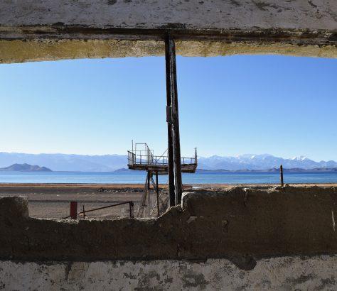 Festung, Ruinen. Karakul, Karakul-See, Tadschikistan