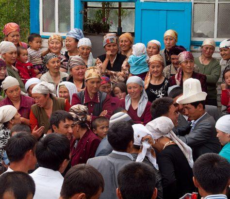 Hochzeit in Kirgistan Toi