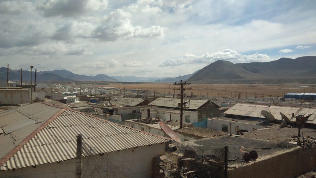 Antennen in Murghob Tadschikistan