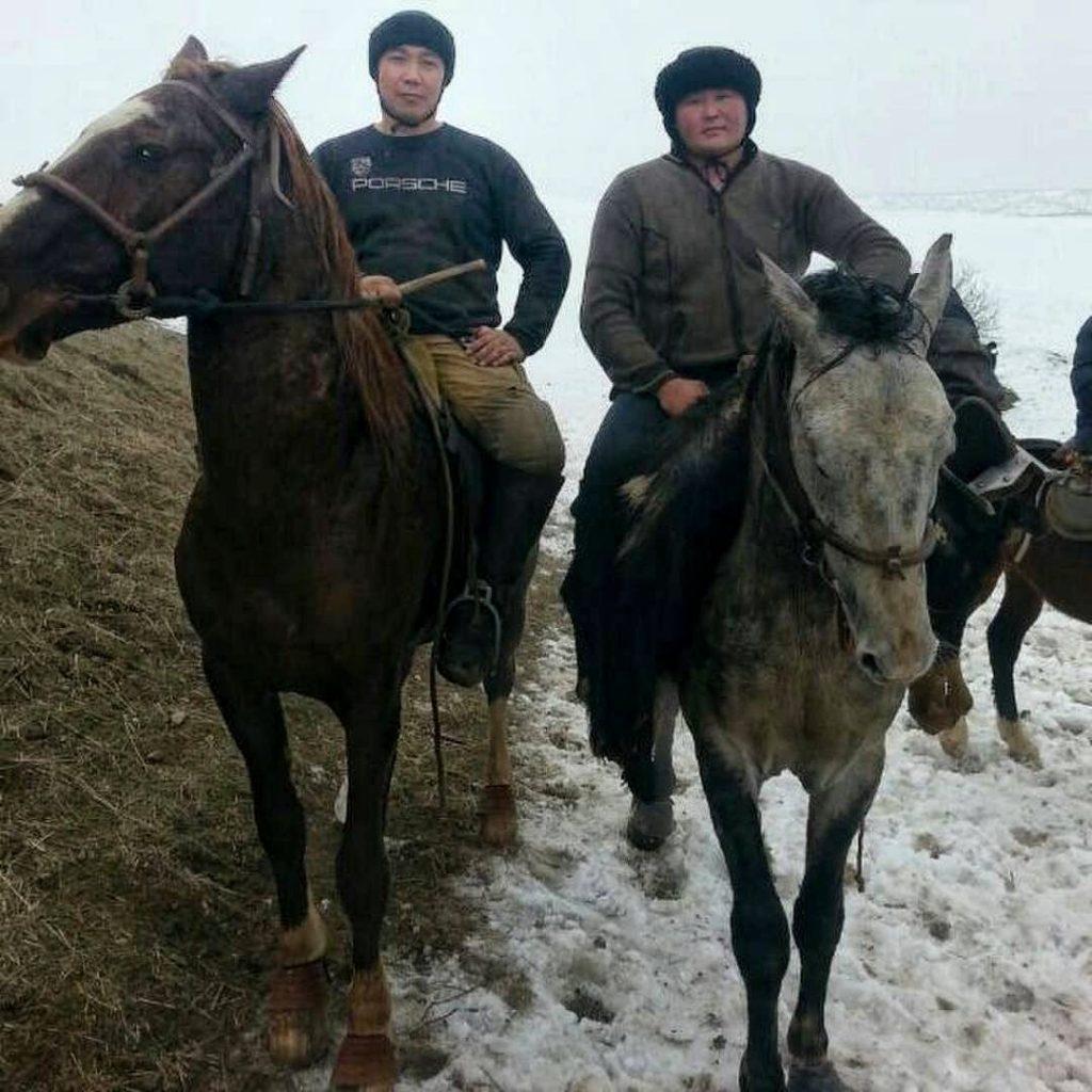 Kok Boru. Pferd, Reiten, Sport