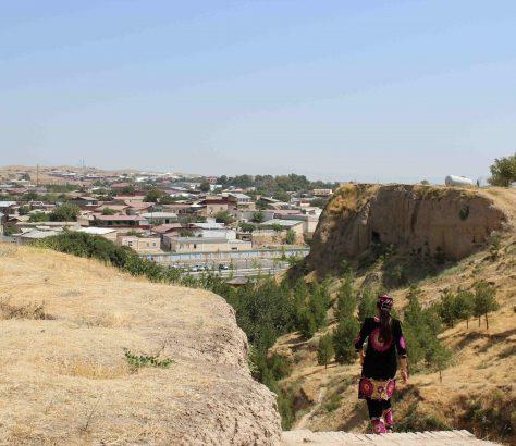 Afrosjiob Samarkand Usbekistan
