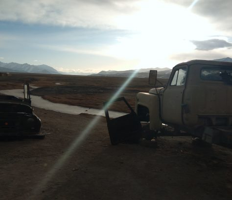Morgendämmerung Tajikistan Alishor