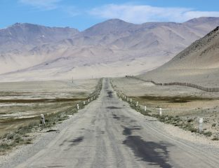 Tadschikistan Straße Berge