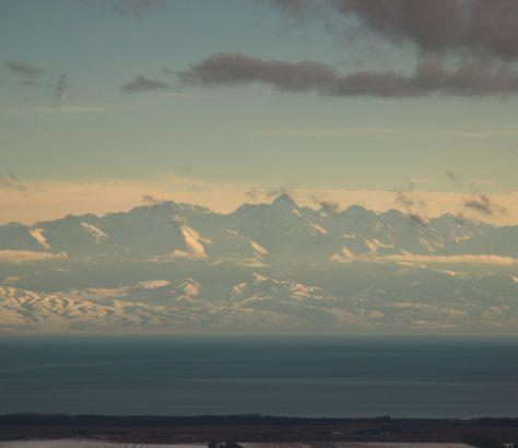 Issikköl Kirgistan Gebirge Issikkölsee