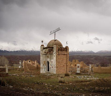 Friedhof Kirgisistan