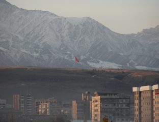 Bischkek Kirgistan Panorama