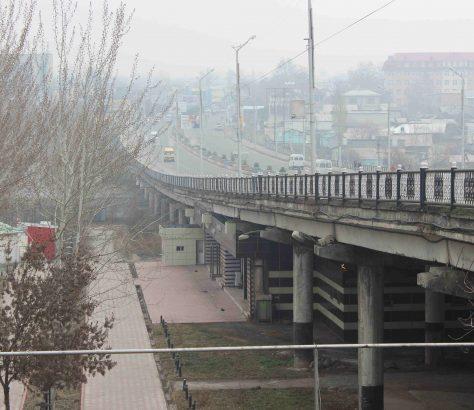 Marschrutka Och Brücke